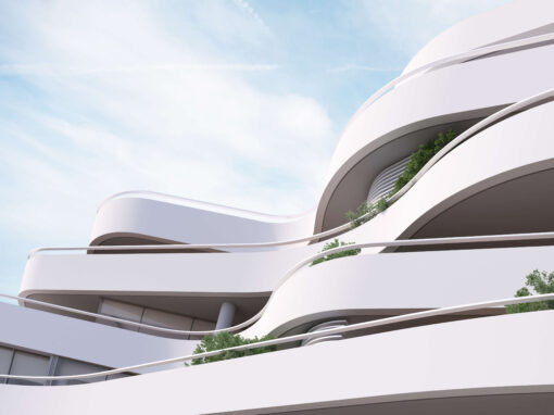 residential complex in athens